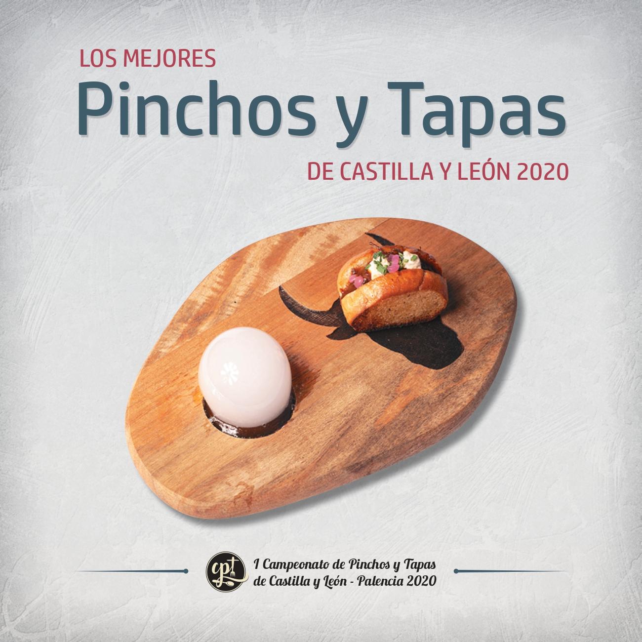 Portada del libro I Campeonato de Pinchos y Tapas de Castilla y León.
